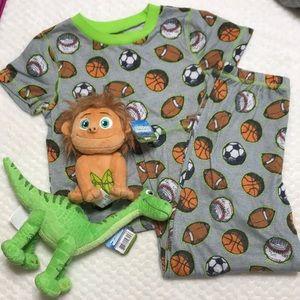Other - VGC boys set pajamas with Spot and dinosaur 🦖
